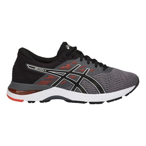 Mens ASICS GEL-Flux 5 Running Shoe - Carbon/Black/Tomato 11.5