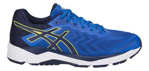 Mens ASICS GEL-Fortitude 8 Running Shoe - Blue/Sulphur 8