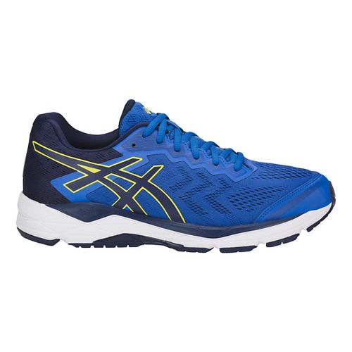 Mens ASICS GEL-Fortitude 8 Running Shoe - Blue/Sulphur 7.5