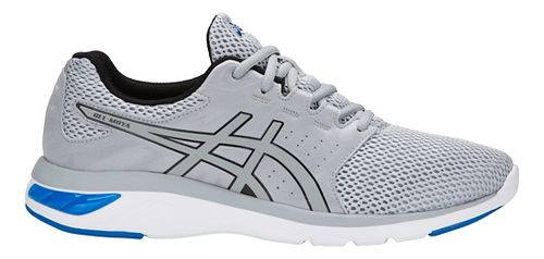 Mens ASICS GEL-Moya Running Shoe - Grey/Blue 13