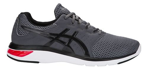 Mens ASICS GEL-Moya Running Shoe - Carbon/Red 7.5