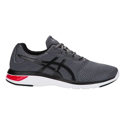 Mens ASICS GEL-Moya Running Shoe - Black/Silver 11
