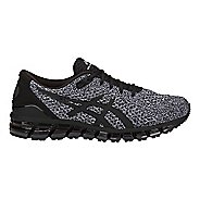 Mens ASICS GEL-Quantum 360 Knit Running Shoe - Black/White 8