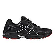 Mens ASICS GEL-Vanisher Running Shoe - Black/Stone/Red 10