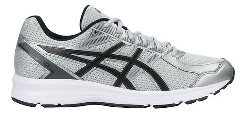 Mens ASICS Jolt Running Shoe - Grey/Black/Carbon 15
