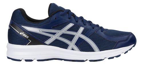 Mens ASICS Jolt Running Shoe - Blue/Silver/Black 8