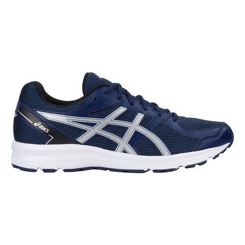 Mens ASICS Jolt Running Shoe - Blue/Silver/Black 13