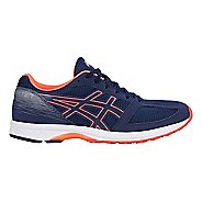 Mens ASICS LyteRacer TS 7 Running Shoe - Blue/White/Coral 6