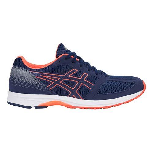 Mens ASICS LyteRacer TS 7 Running Shoe - Blue/White/Coral 10.5