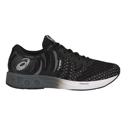 Mens ASICS Noosa FF 2 Running Shoe - Black/White/Carbon 7.5