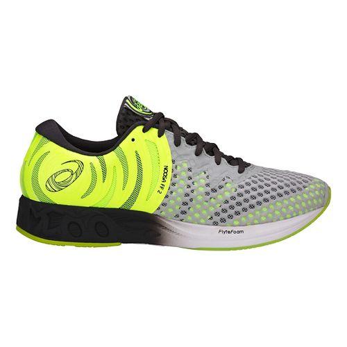 Mens ASICS Noosa FF 2 Running Shoe - Grey/Yellow 11.5
