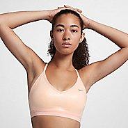 Womens Nike Pro Rise Indy Sports Bra - Crimson S