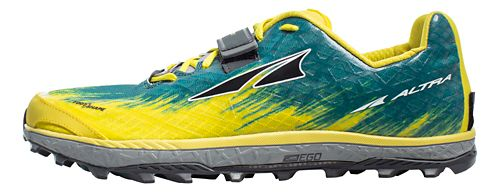 Mens Altra King MT 1.5 Trail Running Shoe - Yellow 11