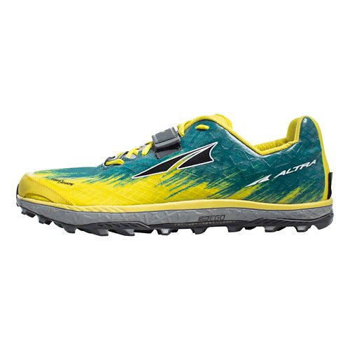 Mens Altra King MT 1.5 Trail Running Shoe - Yellow 8