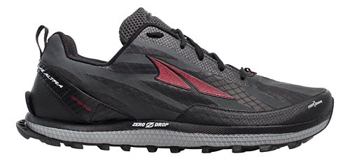 Mens Altra Superior 3.5 Trail Running Shoe - Black/Red 11.5