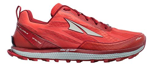 Mens Altra Superior 3.5 Trail Running Shoe - Red 8.5