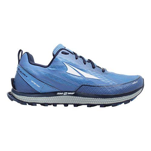 Womens Altra Superior 3.5 Trail Running Shoe - Dark Blue 9