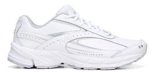 Womens Ryka Comfort Walk L SMW Walking Shoe - White/Silver 6