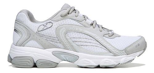 Womens Ryka Ultimate Running Shoe - White/Grey 10