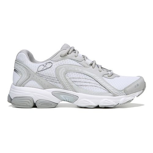 Womens Ryka Ultimate Running Shoe - White/Grey 7.5