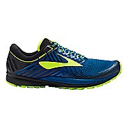 Mens Brooks Mazama 2 Trail Running Shoe - Blue/Black 8