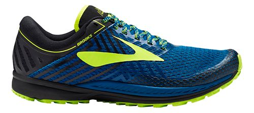 Mens Brooks Mazama 2 Trail Running Shoe - Blue/Black 11