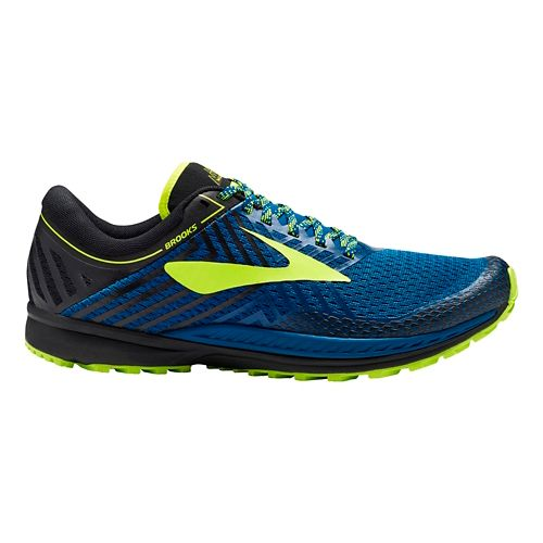Mens Brooks Mazama 2 Trail Running Shoe - Blue/Black 9.5