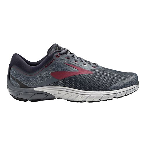 Mens Brooks PureCadence 7 Running Shoe - Red/Black 10