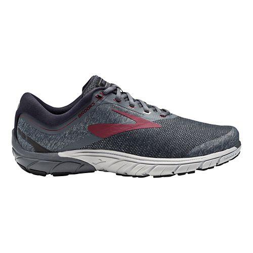 Mens Brooks PureCadence 7 Running Shoe - Red/Black 11