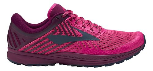 Womens Brooks Mazama 2 Trail Running Shoe - Pink/Plum/Navy 7.5