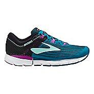 Womens Brooks Neuro 3 Running Shoe - Black/Purple 7.5