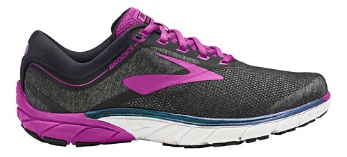 Womens Brooks PureCadence 7 Running Shoe - Black/Purple 7