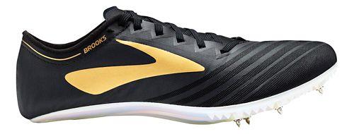 Brooks QW-K v3 Track and Field Shoe - Black/Gold 8