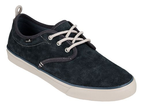 Mens Sanuk Guide Plus Suede Casual Shoe - Dark Charcoal 11.5