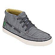 Mens Sanuk Sea Mid Casual Shoe - Charcoal 7