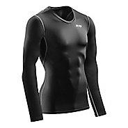 Mens CEP Wingtech Shirt Long Sleeve Technical Tops - Black S