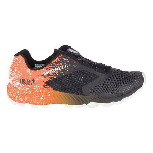 Mens Merrell All Out Crush Tough Mudder 2 BOA Trail Running Shoe - Orange 7