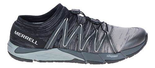 Mens Merrell Bare Access Flex Knit Running Shoe - Black 9