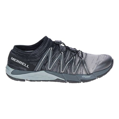 Mens Merrell Bare Access Flex Knit Running Shoe - Black 9