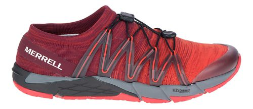 Mens Merrell Bare Access Flex Knit Running Shoe - Red 7.5