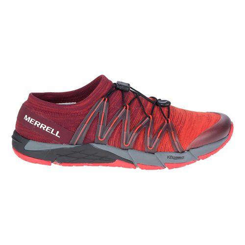 Mens Merrell Bare Access Flex Knit Running Shoe - Red 13