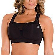 Womens Zensah High Impact Sports Bras - Black 36-D