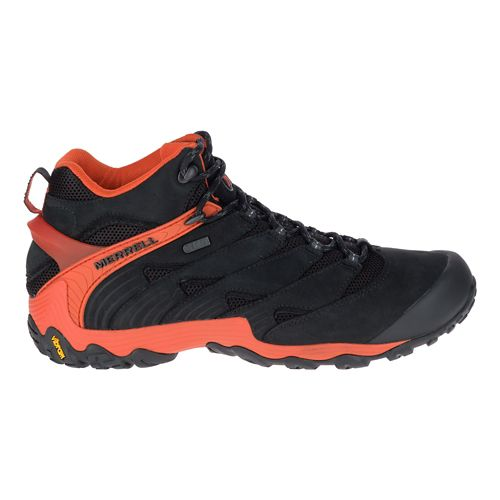 Mens Merrell Chameleon 7 Mid Waterproof Hiking Shoe - Red 13