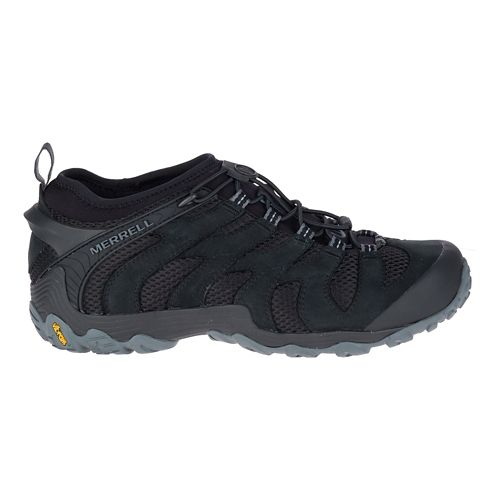 Mens Merrell Chameleon 7 Stretch Hiking Shoe - Black 10.5