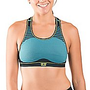 Womens Zensah POP Seamless Sports Bras - Aqua S-T
