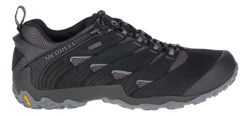 Mens Merrell Chameleon 7 Waterproof Hiking Shoe - Black 7.5