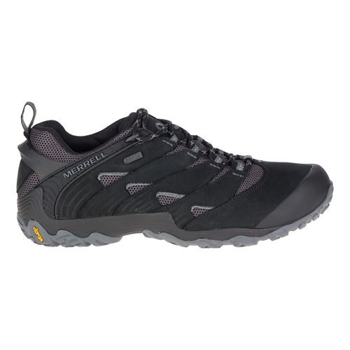 Mens Merrell Chameleon 7 Waterproof Hiking Shoe - Black 7