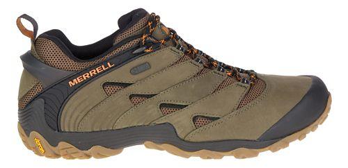 Mens Merrell Chameleon 7 Waterproof Hiking Shoe - Olive 12
