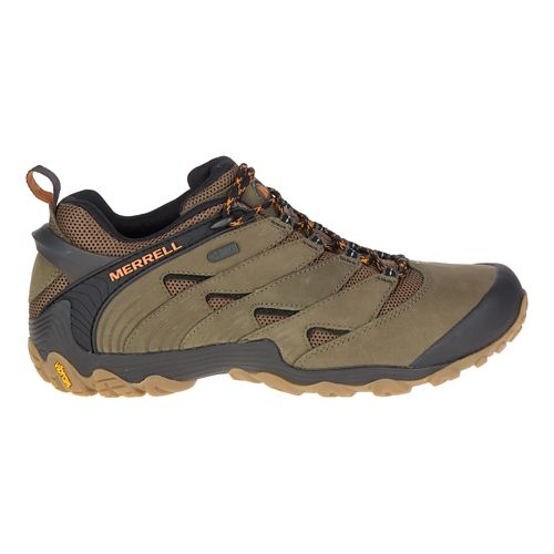 Mens Merrell Chameleon 7 Waterproof Hiking Shoe - Olive 9.5