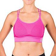 Womens Zensah Super Sports Bralette Sports Bras - Magenta L